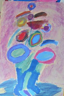 Original cleared children's art