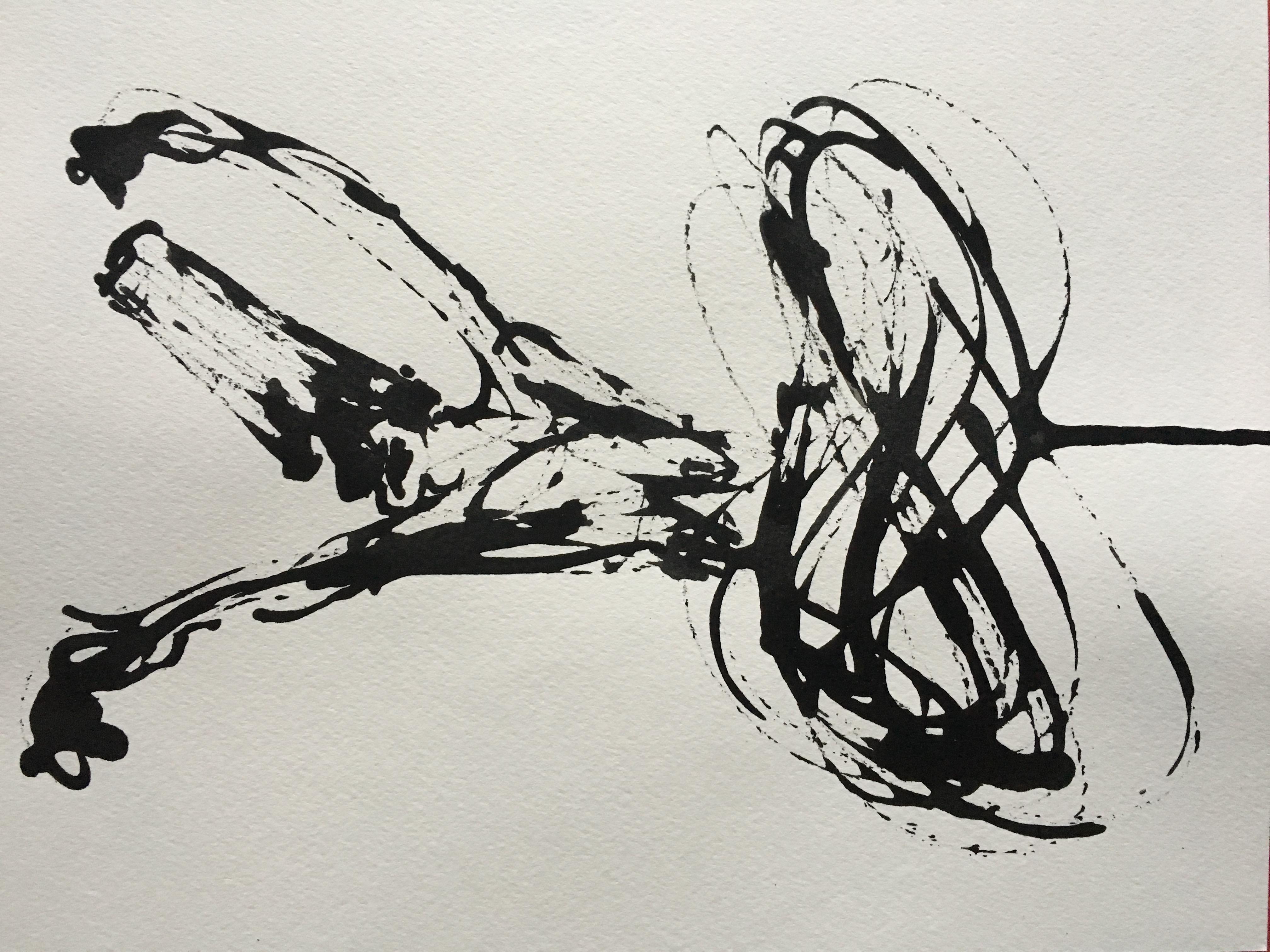 Inkpromptu Op.212 | Sufi dancer