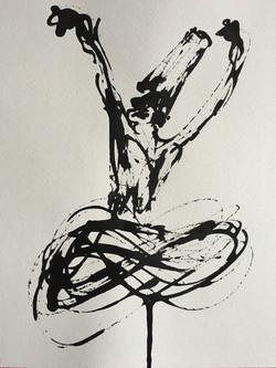 Inkpromptu Op.212   Sufi dancer