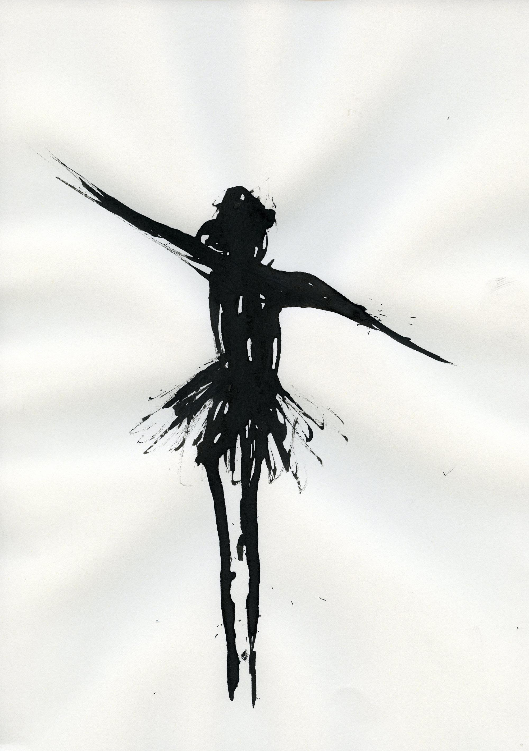 Inkpromptu Op.20 | dancer #4