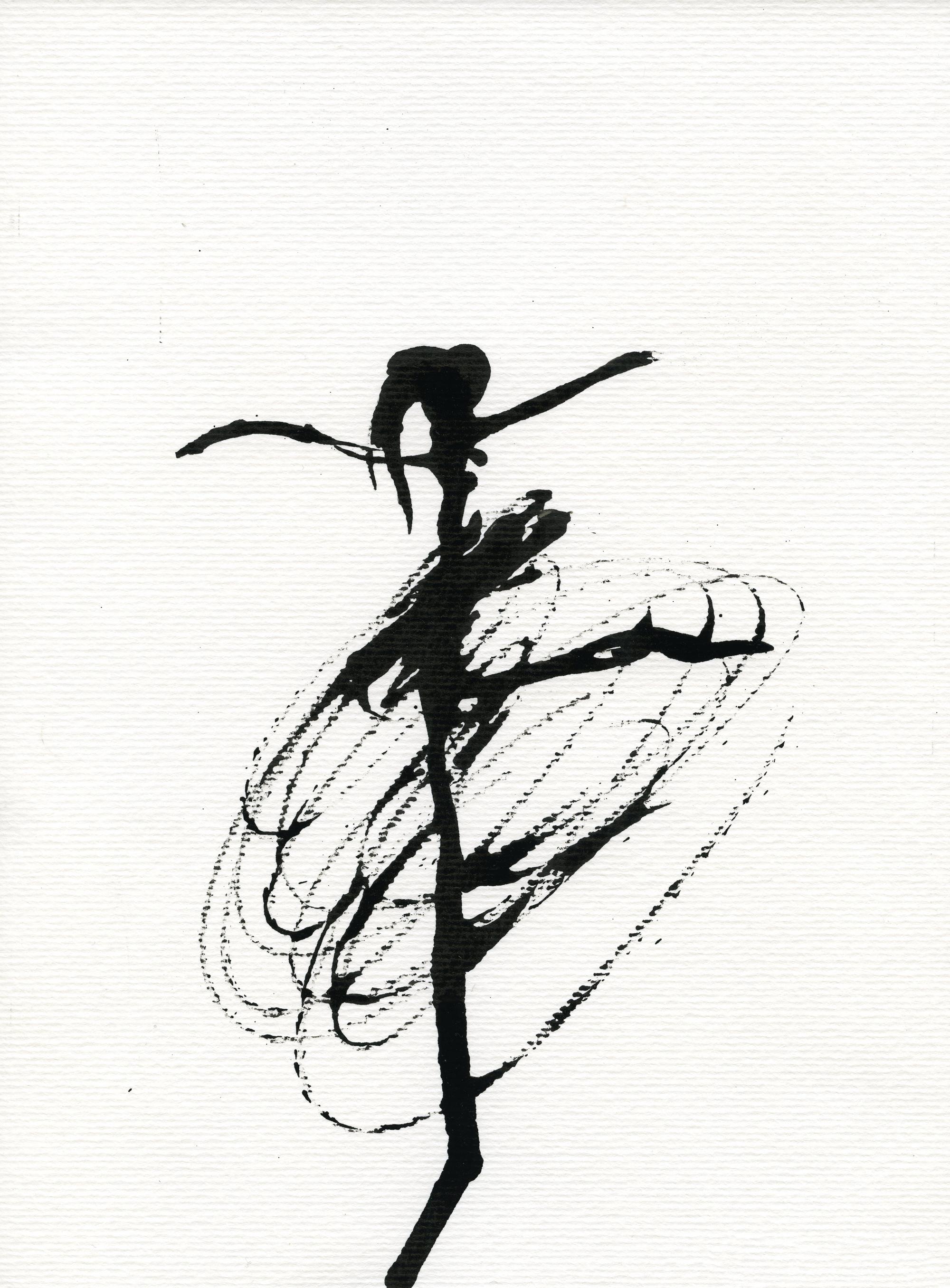 Inkpromptu Op.38 | Dancer #14