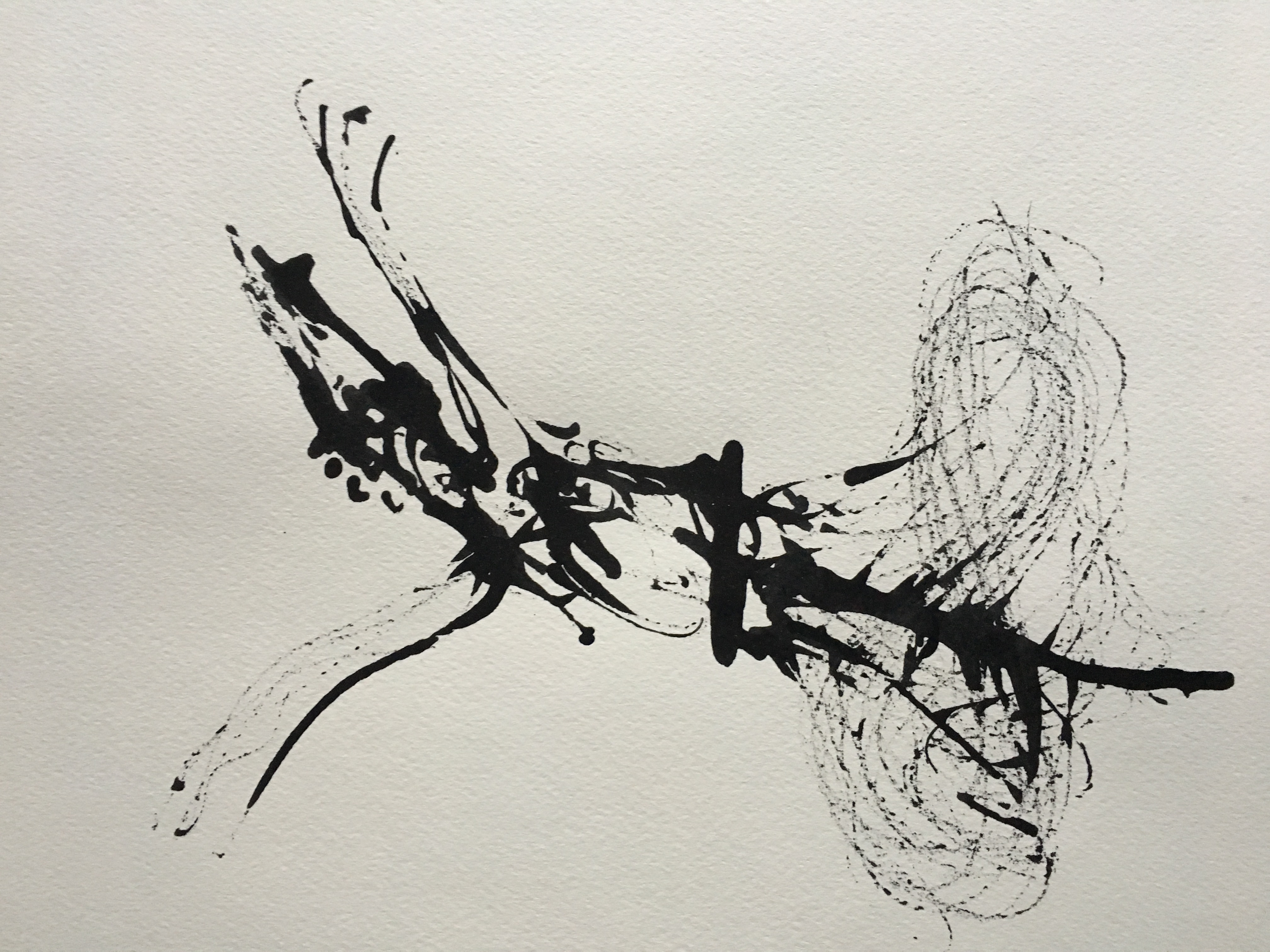 Inkpromptu Op.211 | Sufi dancer