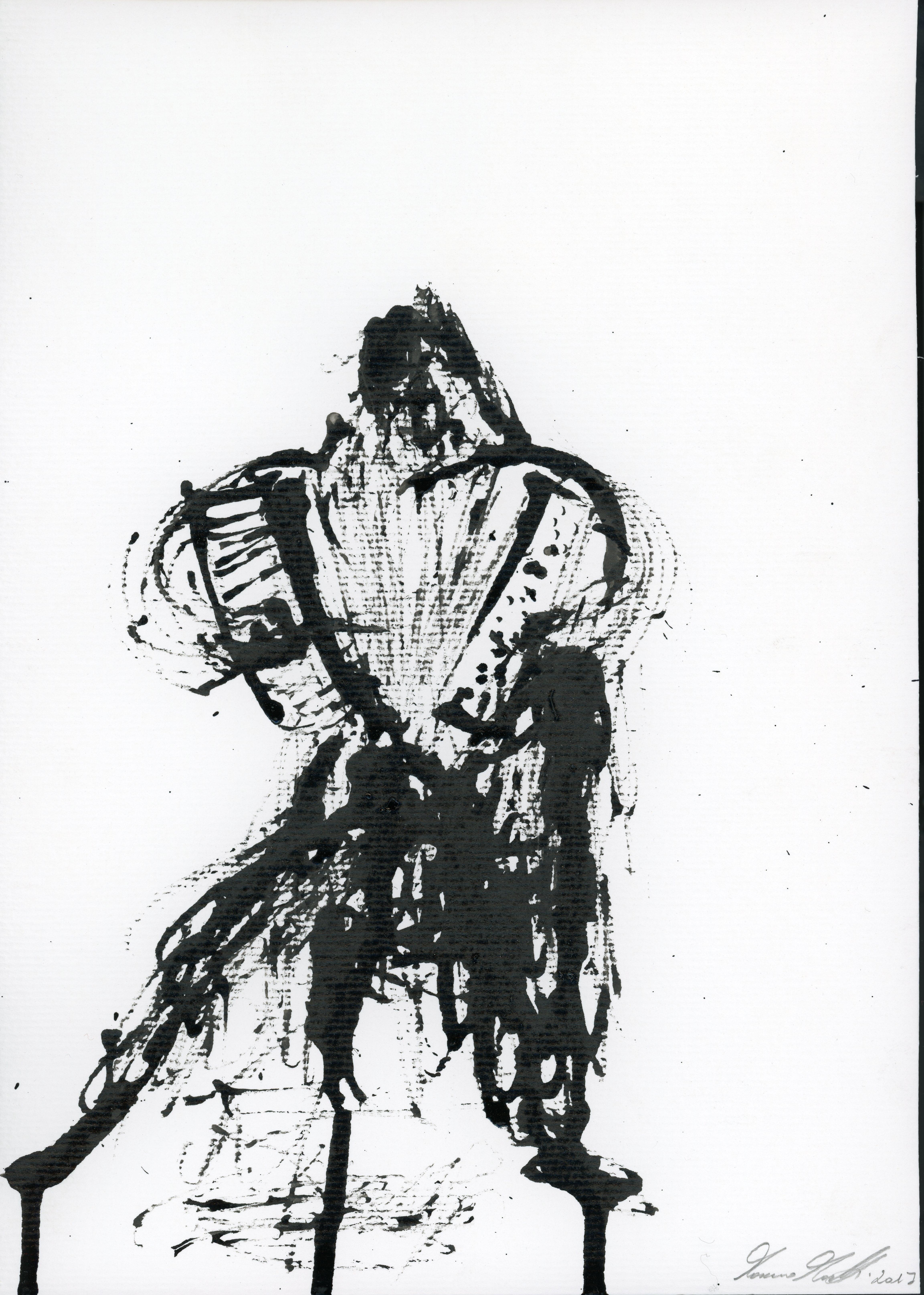 Inkpromptu Op.32   Il fisarmonicista #2