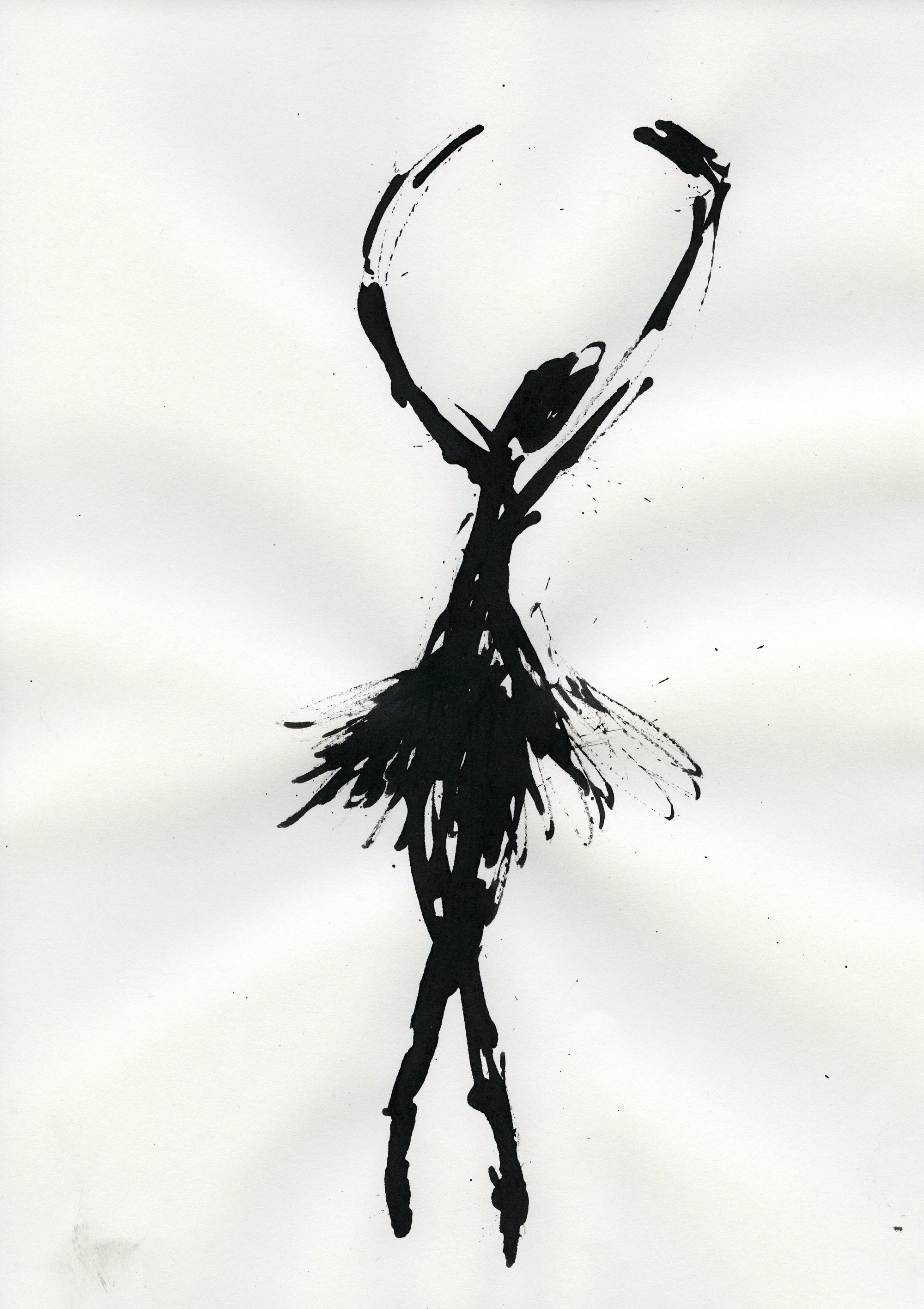 Inkpromptu Op.27 | Dancer #11
