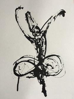 Inkpromptu Op.215   Sufi dancer