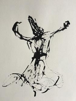 Inkpromptu Op.214   Sufi dancer