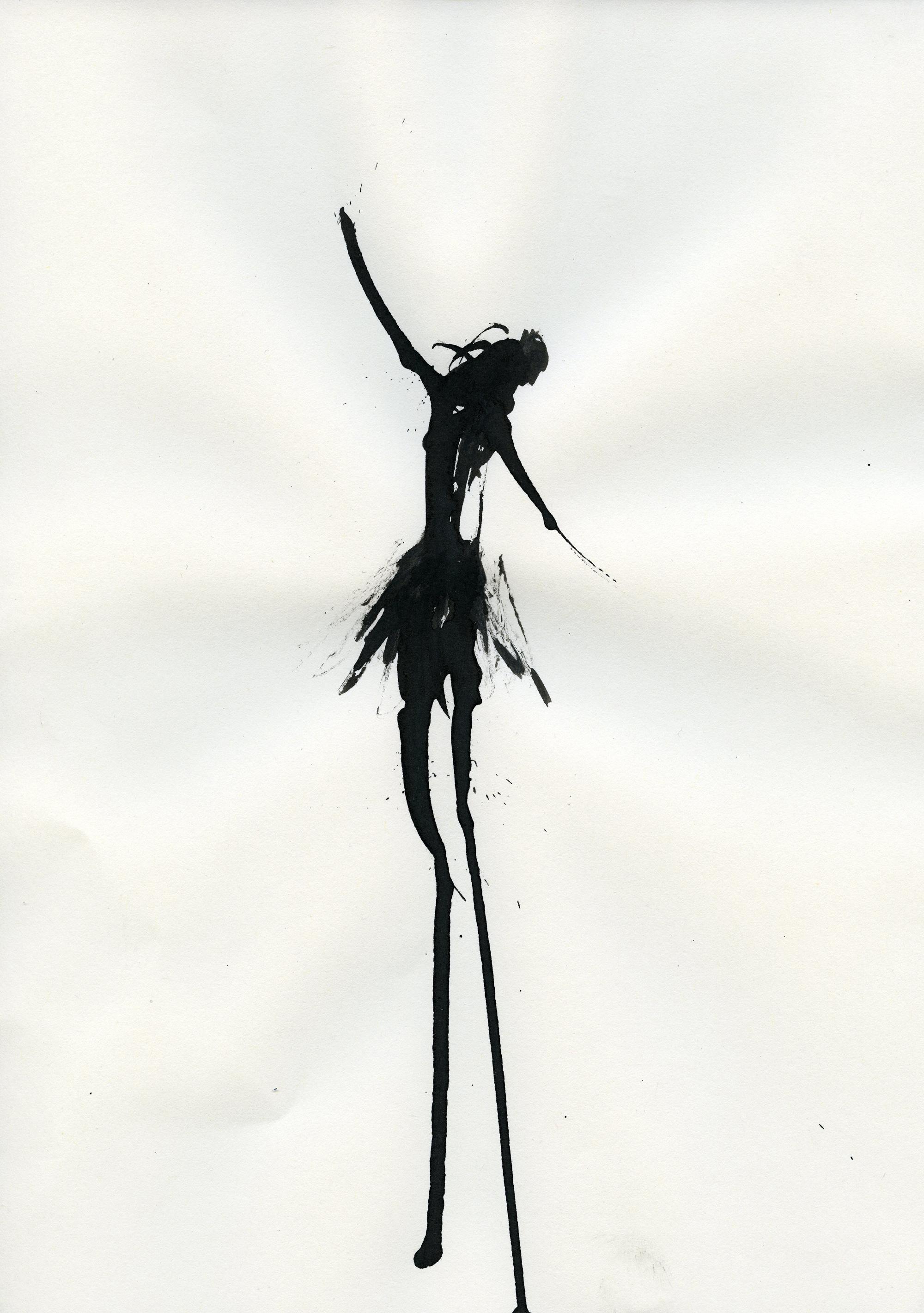 Inkpromptu Op.19 | Dancer #3