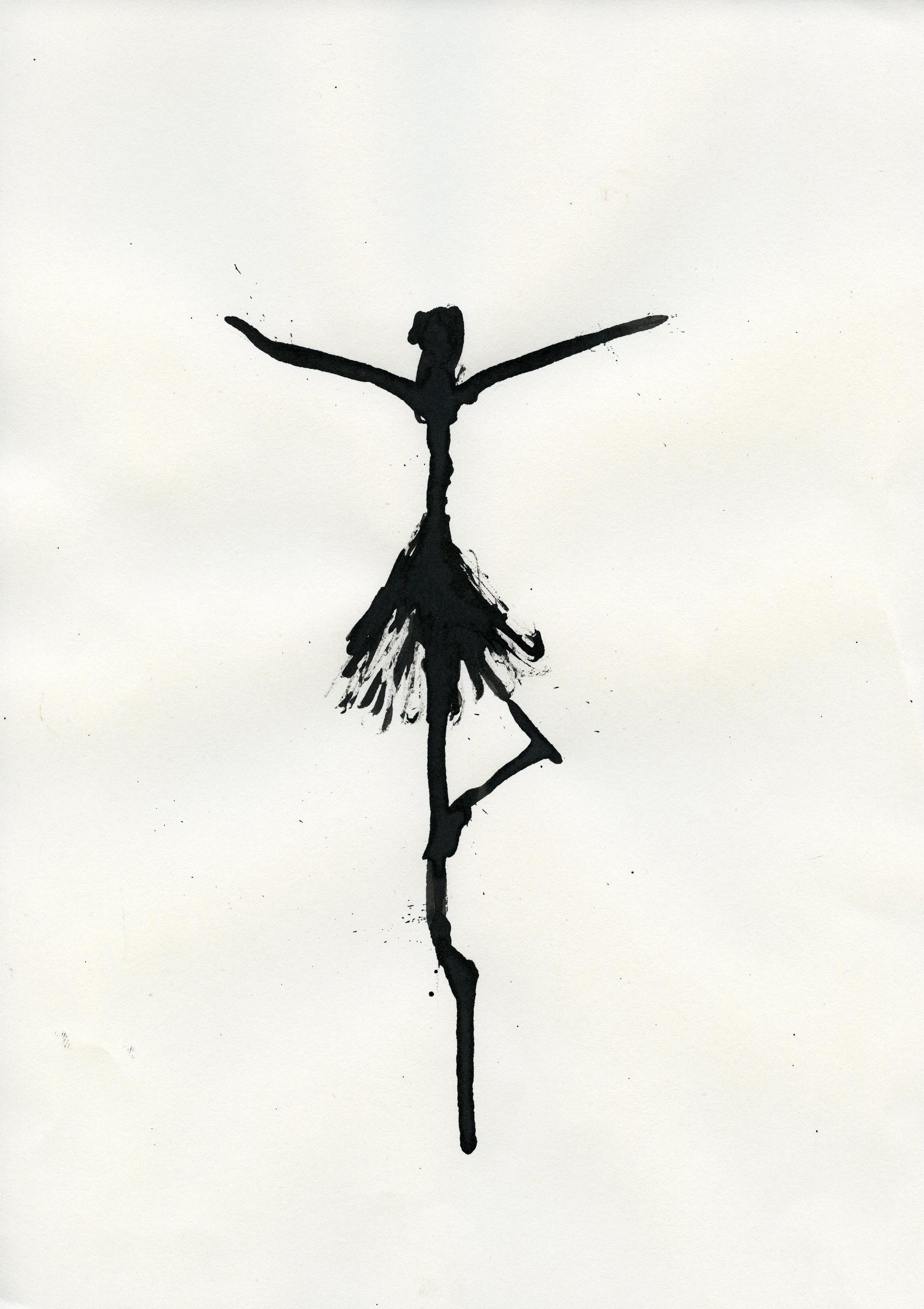 Inkpromptu Op.25 | Dancer #9