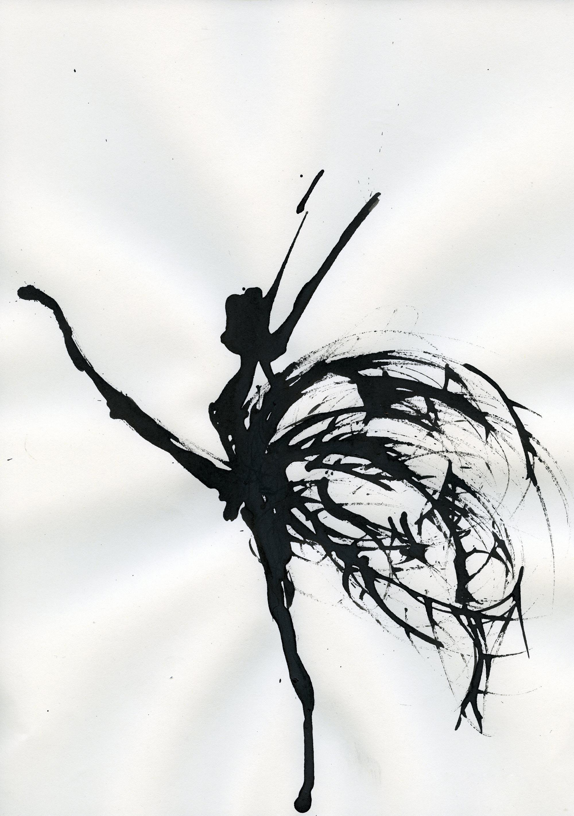 Inkpromptu Op.17 | Dancer #1