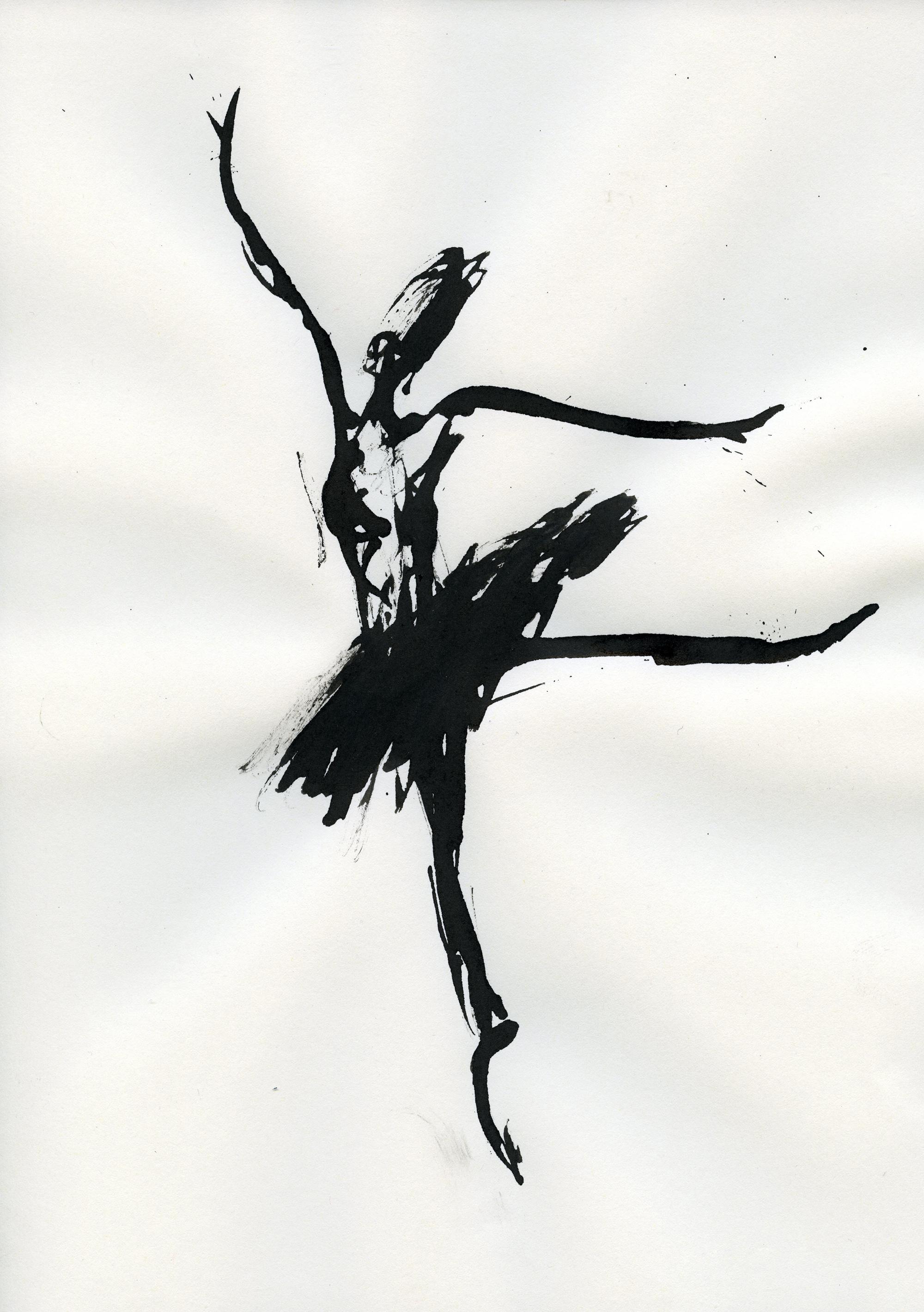 Inkpromptu Op.18 | Dancer #2