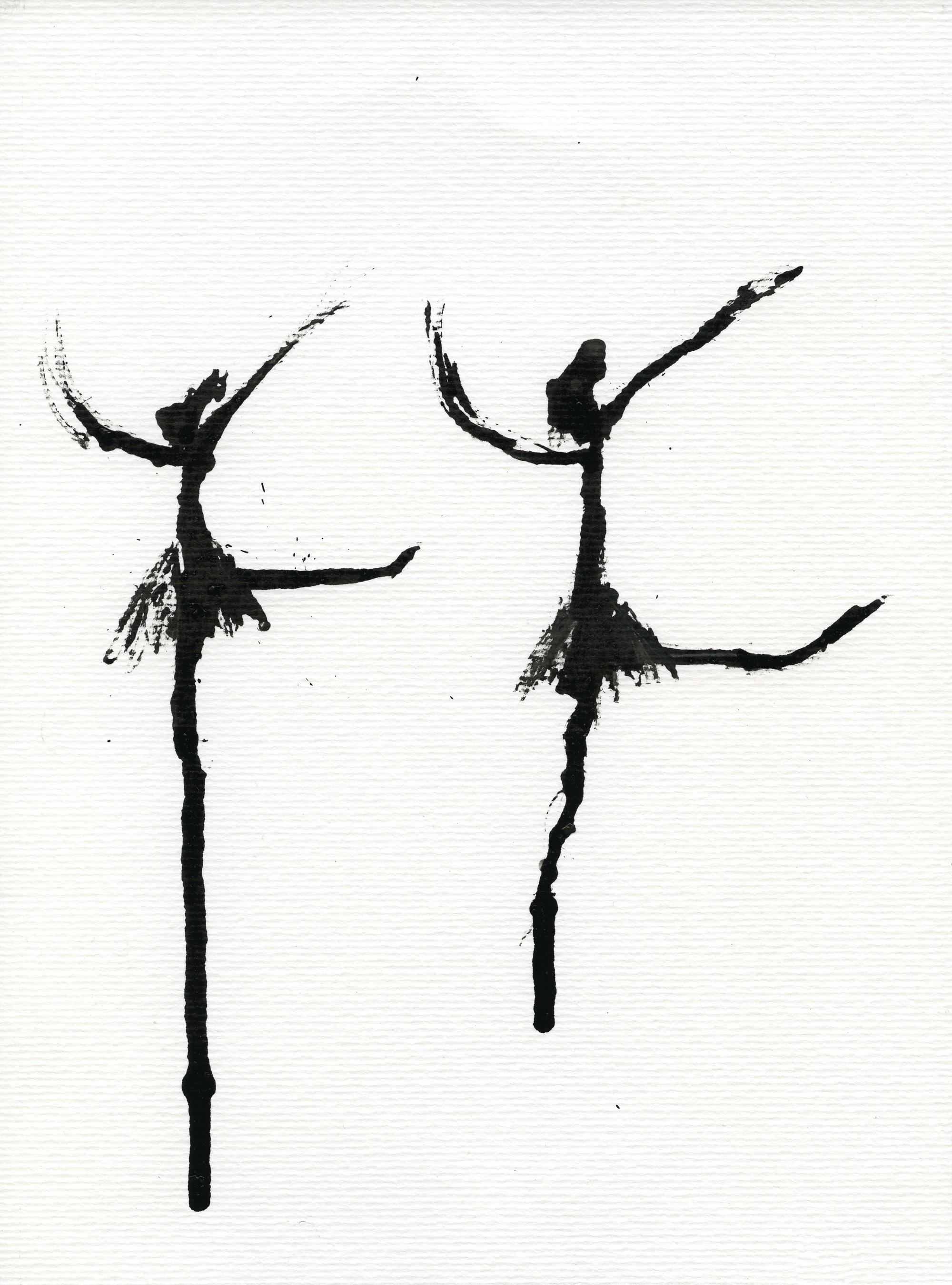 Inkpromptu Op.24 | Dancer #8