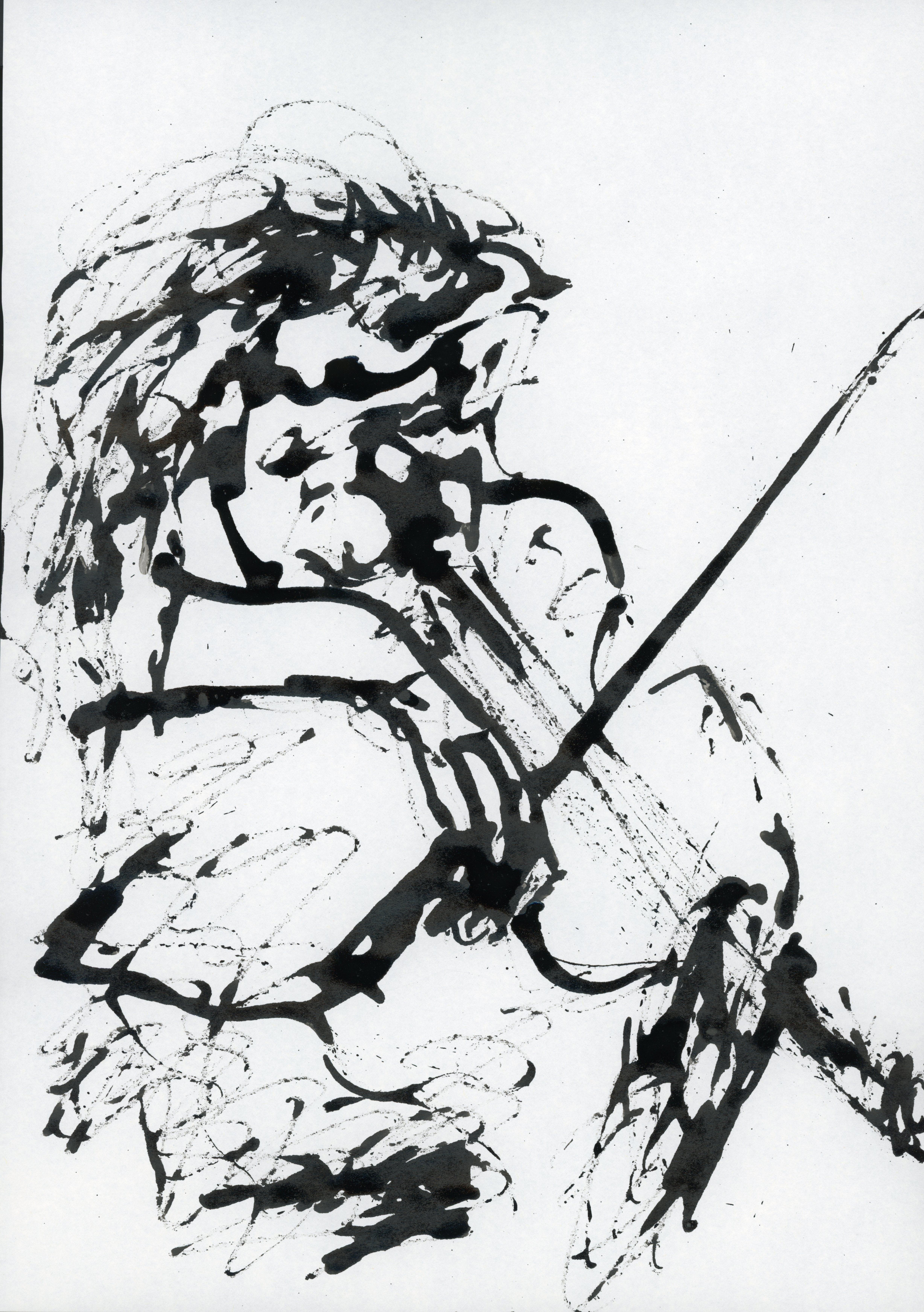 Inkpromptu Op.57   Violinista #4