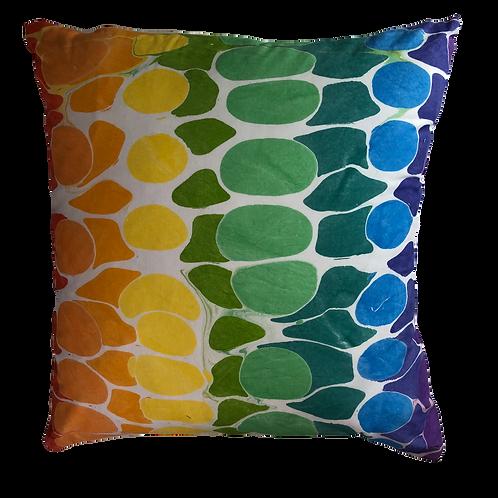 Rainbow Stone Pillow