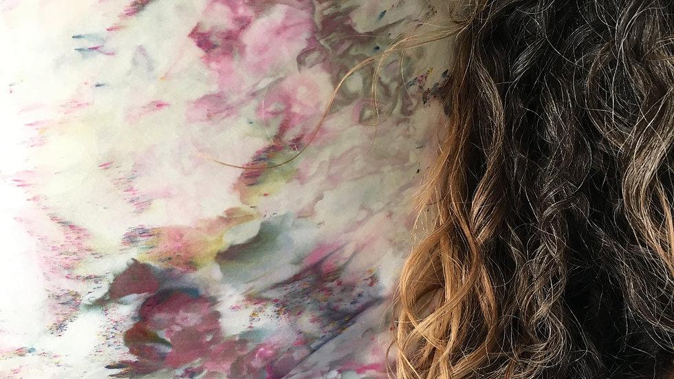 #iwokeuplikethis Abstract Silk Pillowcase