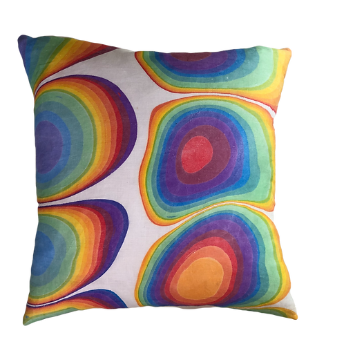 Rainbow Logic Pillow