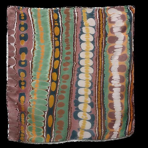 Striped Extra Large Silk