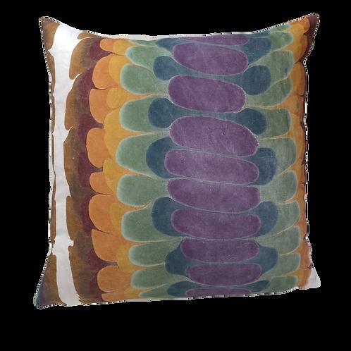 Rainbow Scales Pillow