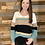 Thumbnail: Teal striped sweater