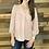 Thumbnail: Blush textured sleeve blouse