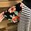 Thumbnail: Plus size black floral stripe tee