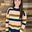 Thumbnail: Striped elbow patch sweater