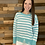 Thumbnail: Striped distressed sweater
