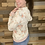 Thumbnail: Floral lace up hoodie