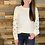 Thumbnail: White puff dotted sweater