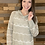 Thumbnail: Sage lightweight hooded sweater top