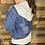 Thumbnail: Denim hooded jacket