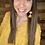Thumbnail: Mustard texture dotted blouse
