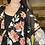 Thumbnail: Black floral kimono