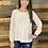 Thumbnail: Cream lace blouse