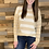 Thumbnail: Unique striped lightweight sweater