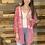 Thumbnail: Cherry blush lace kimono