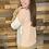 Thumbnail: Blush/gray/taupe color block sweater