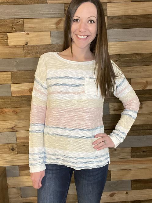 Spring vibes lightweight sweater