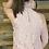 Thumbnail: Mauve lace sleeveless blouse