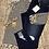 Thumbnail: Plus size striped cheetah lace up top