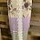 Thumbnail: Plus size Floral color block tank with lace back