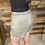 Thumbnail: Military green fringe shorts