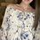 Thumbnail: Blue floral blouse
