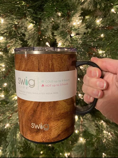 Black Walnut 24oz Swig mug