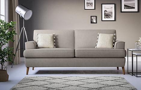 Copenhagen Large Sofa. Grey sofa. Living room sofa ideas. Living room ideas. Grey living room