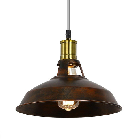 Retro Industrial Pendant Light