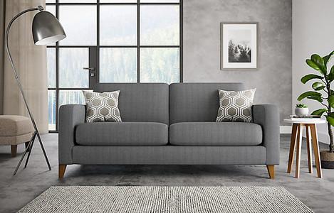 Tromso medium sofa. comfortable sofas. living room ideas. living room sofa ideas. modern sofa. grey sofa