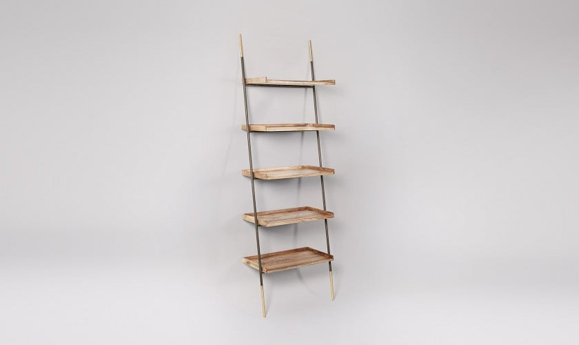Houdini Shelving, Mango Wood. Living room shelves. storage space.