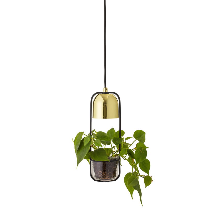 Bloomingville ceiling lamp with hanging basket. Ceiling light. Pendant light.