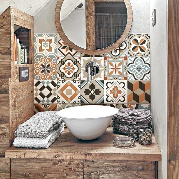 """Innsbruck"" Pvc tiles for bathroom tiles and kitchen Ceramic decorations"
