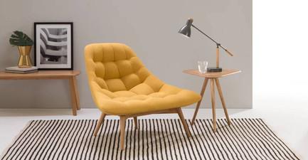 Kolton Chair Yolk Yellow